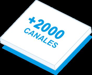 mas de 2000 canales en BeezUP