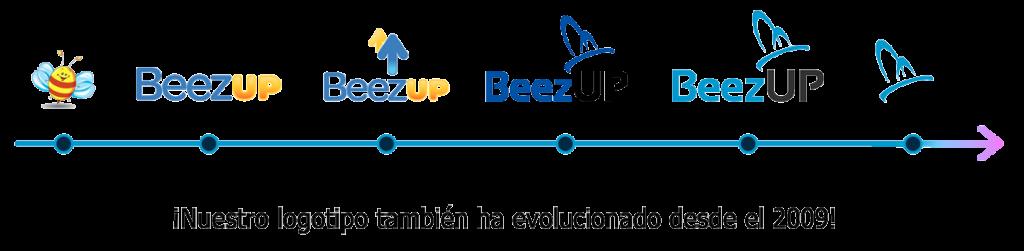 La evolucion del logotipo BeezUP