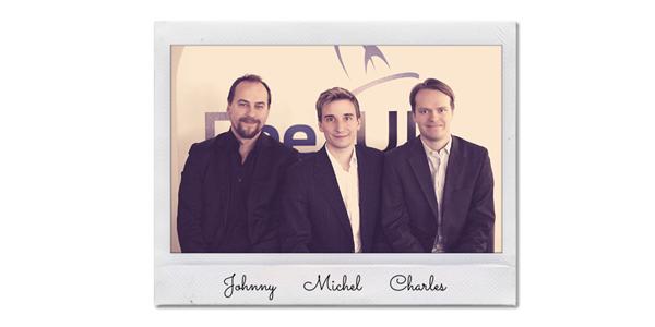 Johnny, Michel Racat y Charles Barat en 2013